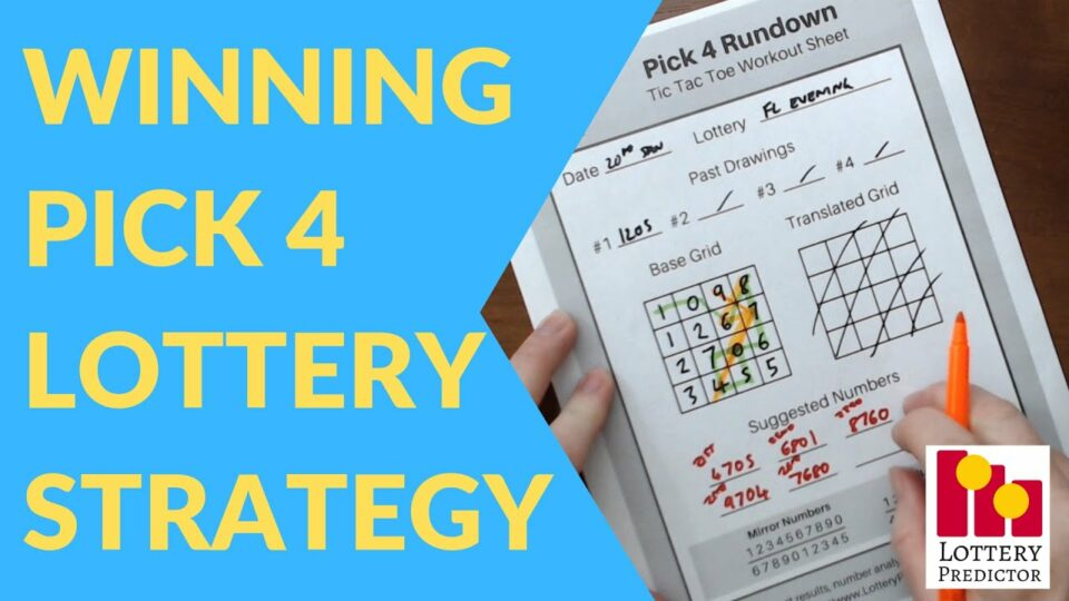 How to Win the Pick 4 Numbers